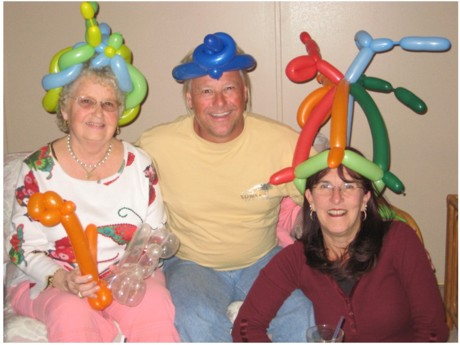Balloon hats for adults
