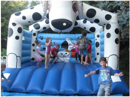 Dalmation Bouncy Castle